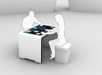 ALPHA Premium MultiTouch Tisch, Details 02